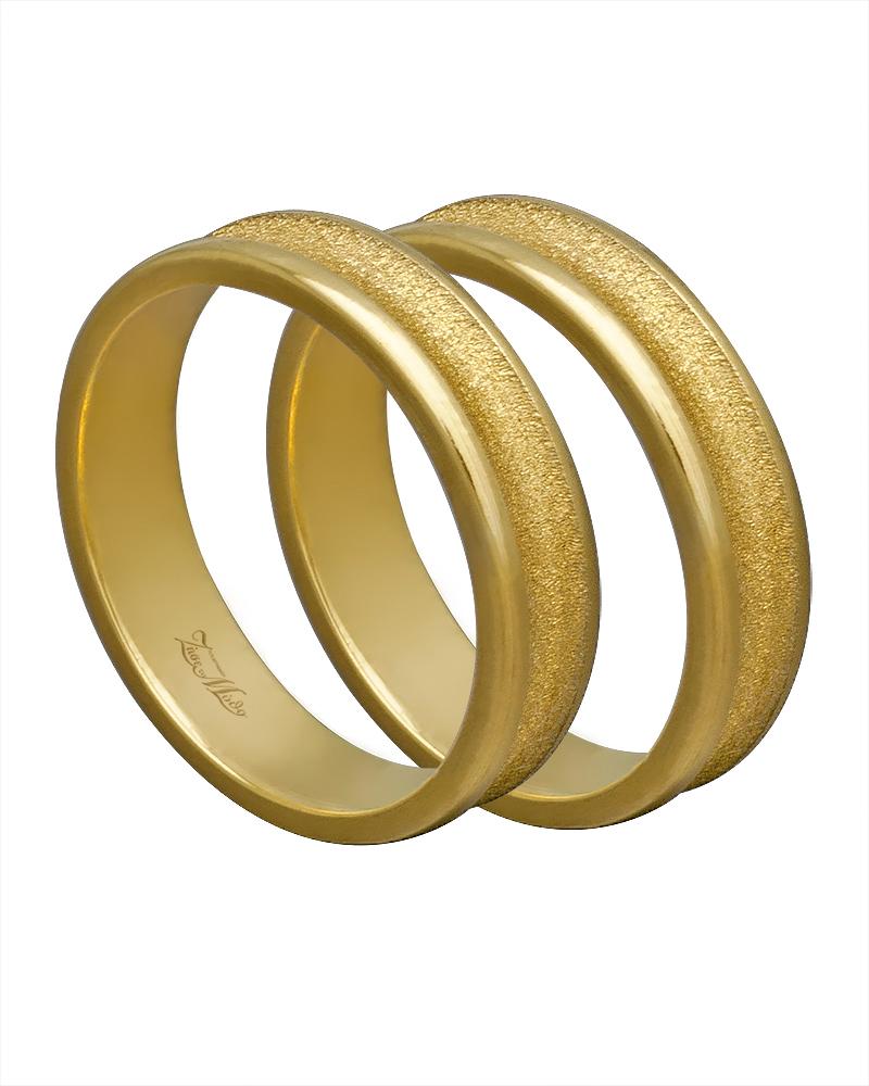 Βέρα χειροποίητη K14 χρυσή XV00314   γαμοσ βέρες γάμου   αρραβώνα βέρες χρυσές