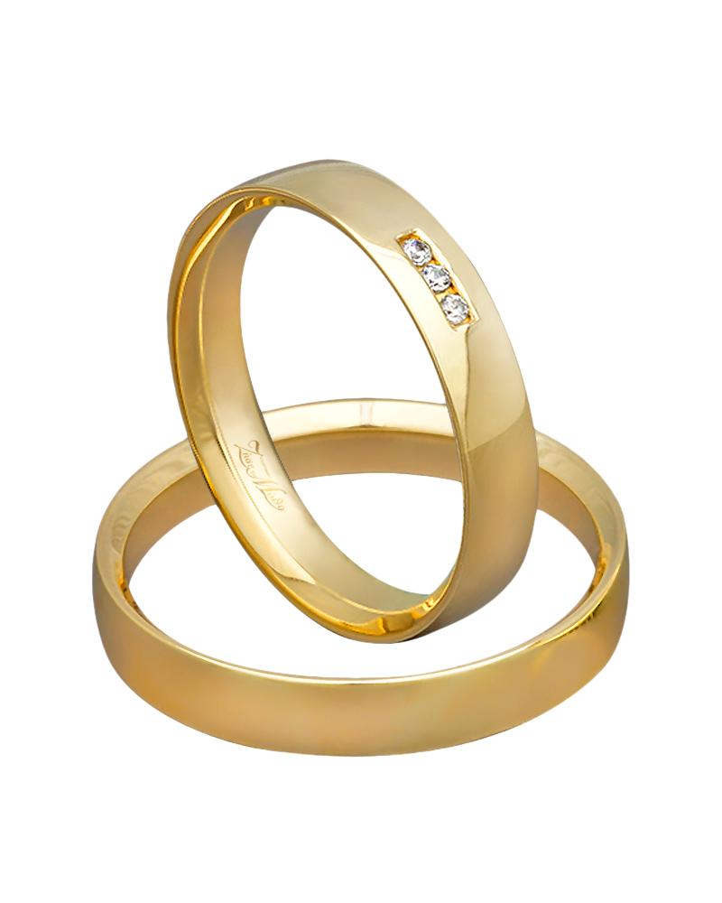 Βέρα χειροποίητη K14 σε χρυσό με διαμάντια XV00363   γαμοσ βέρες γάμου   αρραβώνα βέρες χρυσές
