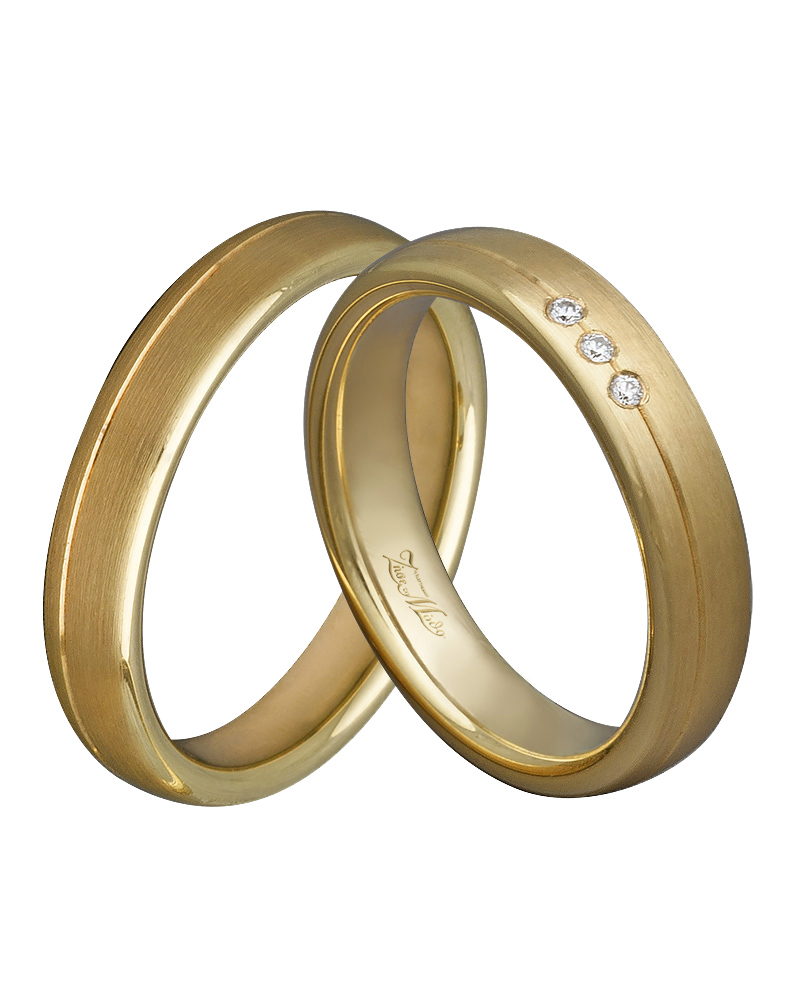 Βέρα χειροποίητη K14 σε χρυσό με διαμάντια XV00359   γαμοσ βέρες γάμου   αρραβώνα βέρες χρυσές