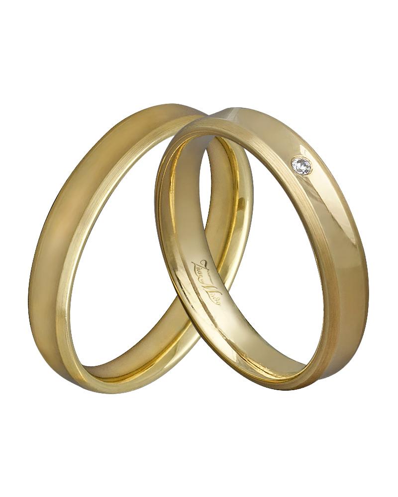 Βέρα χειροποίητη K14 χρυσή XV00339   γαμοσ βέρες γάμου   αρραβώνα βέρες χρυσές