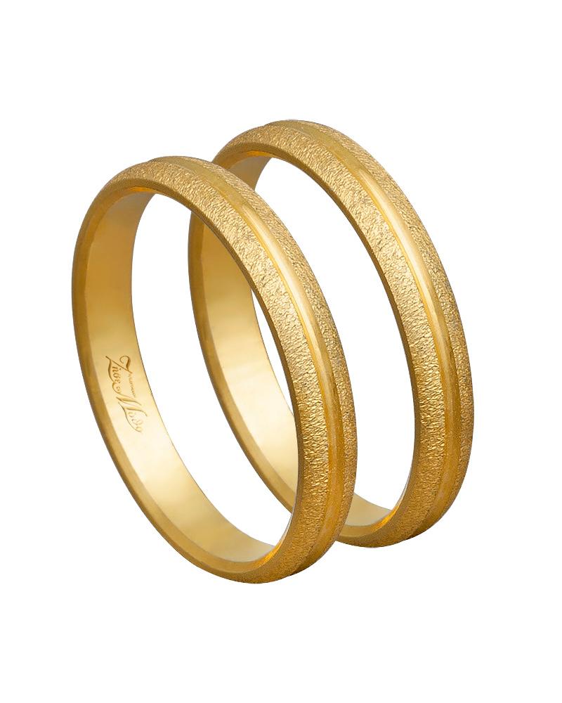 Βέρα χειροποίητη K14 χρυσή XV00633   ζησε το μυθο βέρες γάμου   αρραβώνα βέρες χρυσές