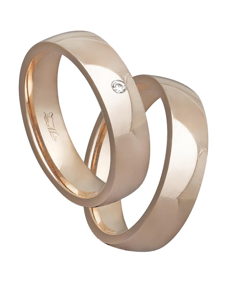 Βέρα χειροποίητη K14 σε ροζ χρυσό XV00630   γαμοσ βέρες γάμου   αρραβώνα βέρες ροζ χρυσές