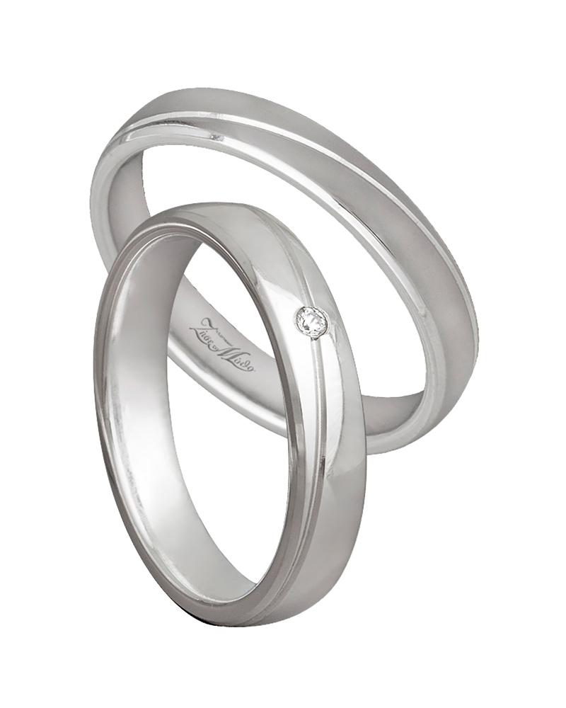 Βέρα χειροποίητη K14 σε λευκόχρυσο XV00507   γαμοσ βέρες γάμου   αρραβώνα βέρες λευκόχρυσες