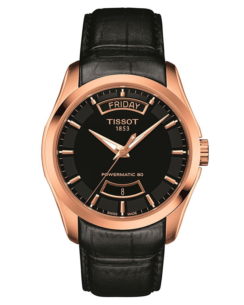 Ρολόι TISSOT T-Classic Couturier Powermatic 80 T0354073605101   brands tissot t classic