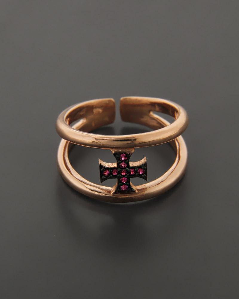 Fashion Δαχτυλίδι ασημένιο με Ζιργκόν   γυναικα δαχτυλίδια δαχτυλίδια ασημένια