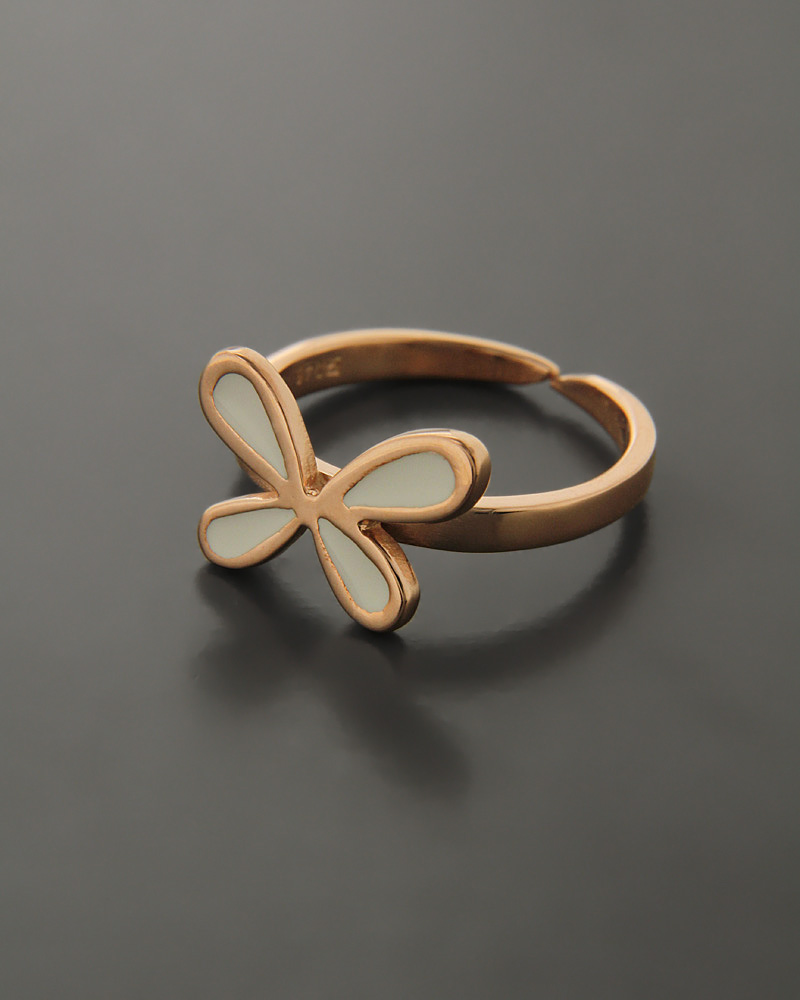 Δαχτυλίδι ασημένιο με Σμάλτο   γυναικα δαχτυλίδια δαχτυλίδια fashion