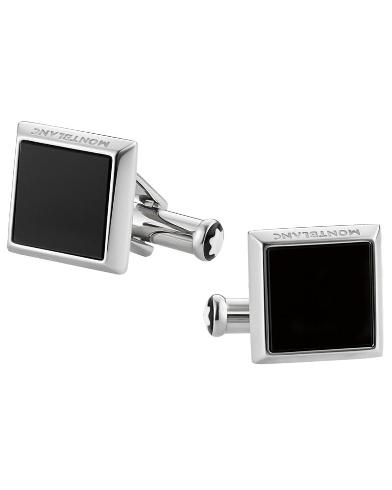 Montblanc Μανικετόκουμπα Sartorial black 115061   brands montblanc μανικετόκουμπα