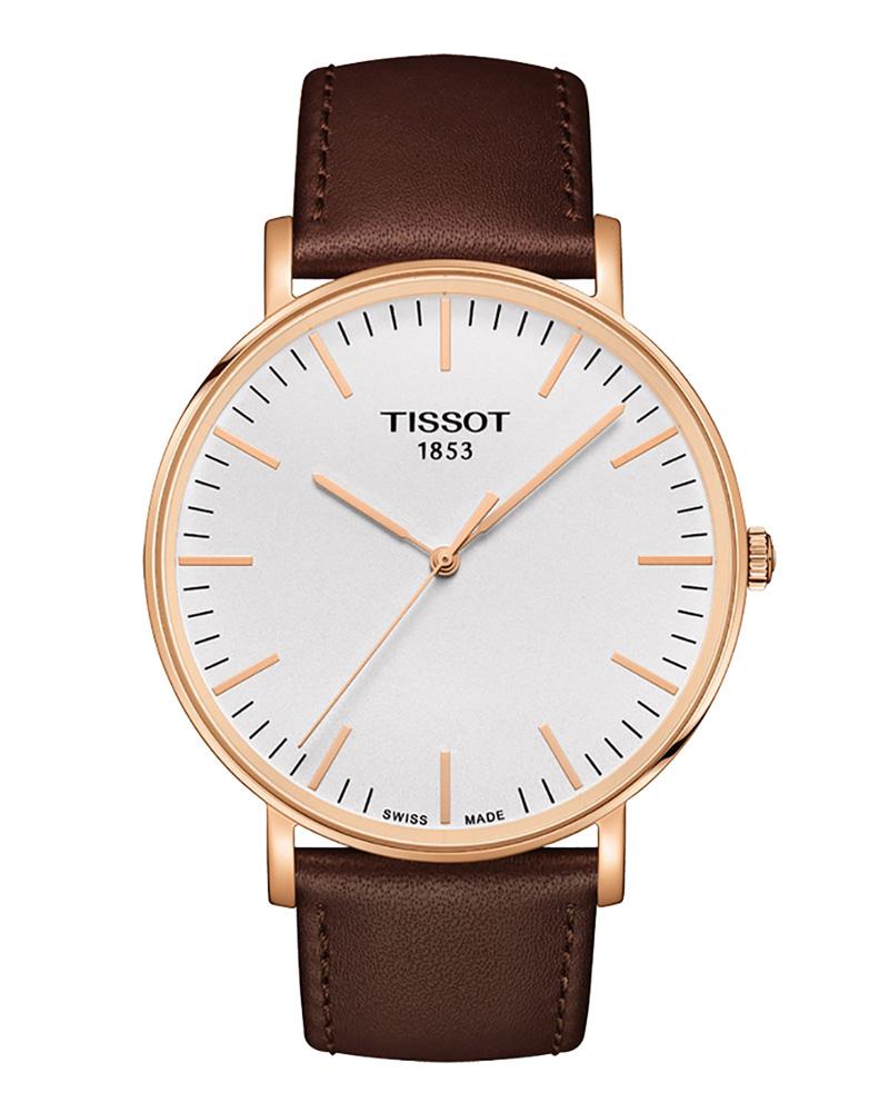 Ρολόι TISSOT T-Classic Everytime Rose Gold T1096103603100   brands tissot t classic