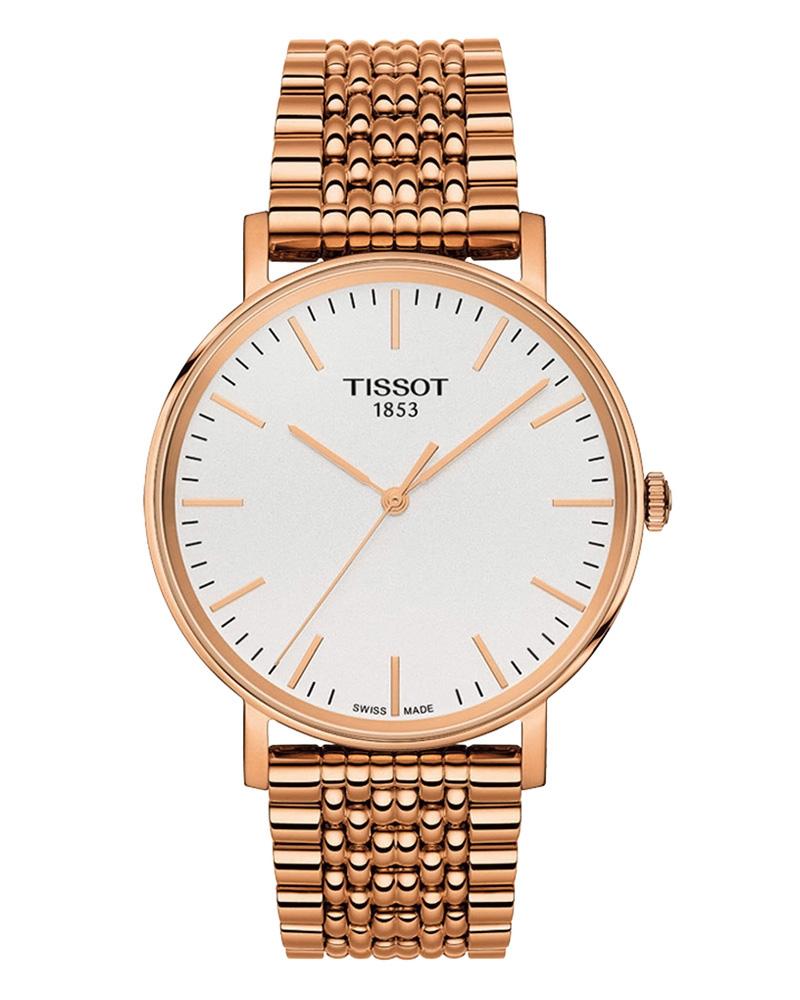 Ρολόι TISSOT T-Classic Everytime Rose Gold T1094103303100   brands tissot t classic