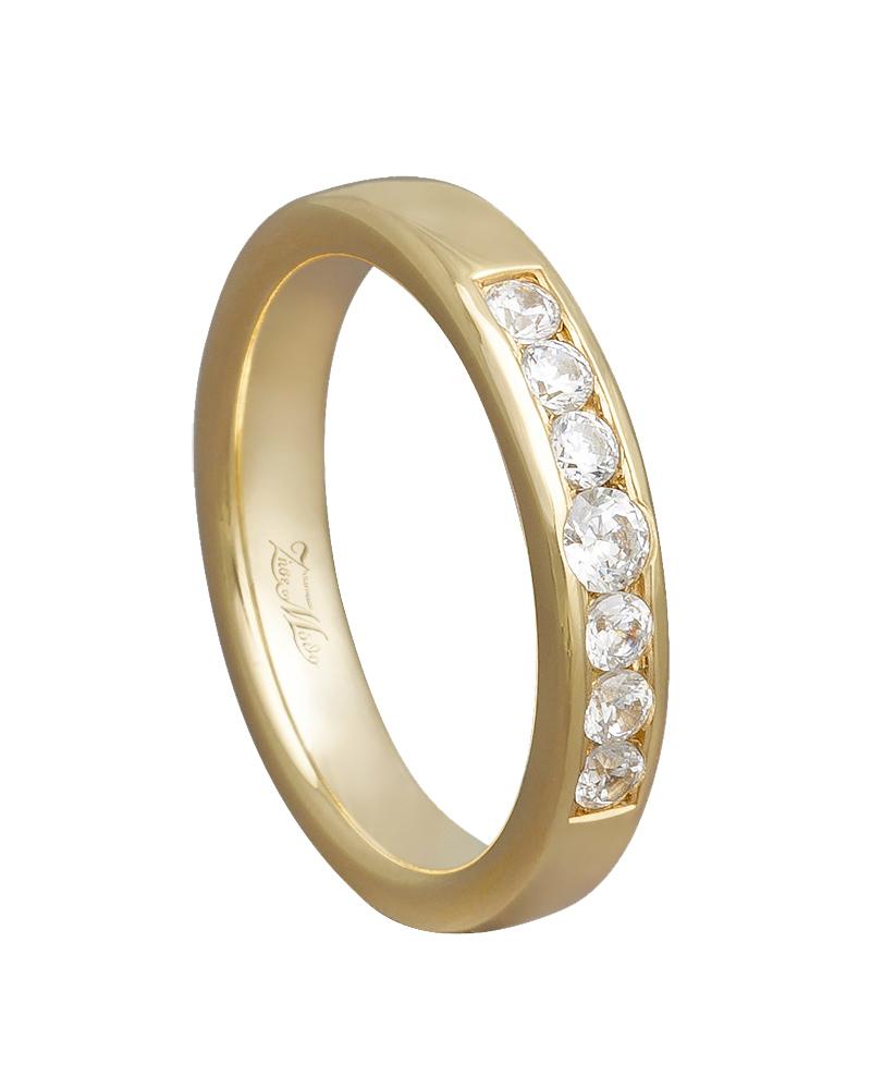 Χειροποίητη βέρα χρυσή 14κ XV00552   κοσμηματα δαχτυλίδια δαχτυλίδια σειρέ