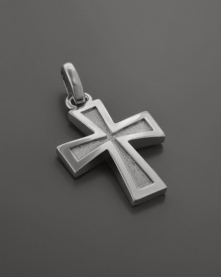 Σταυρός λευκόχρυσος K9   ανδρασ σταυροί ανδρικοί