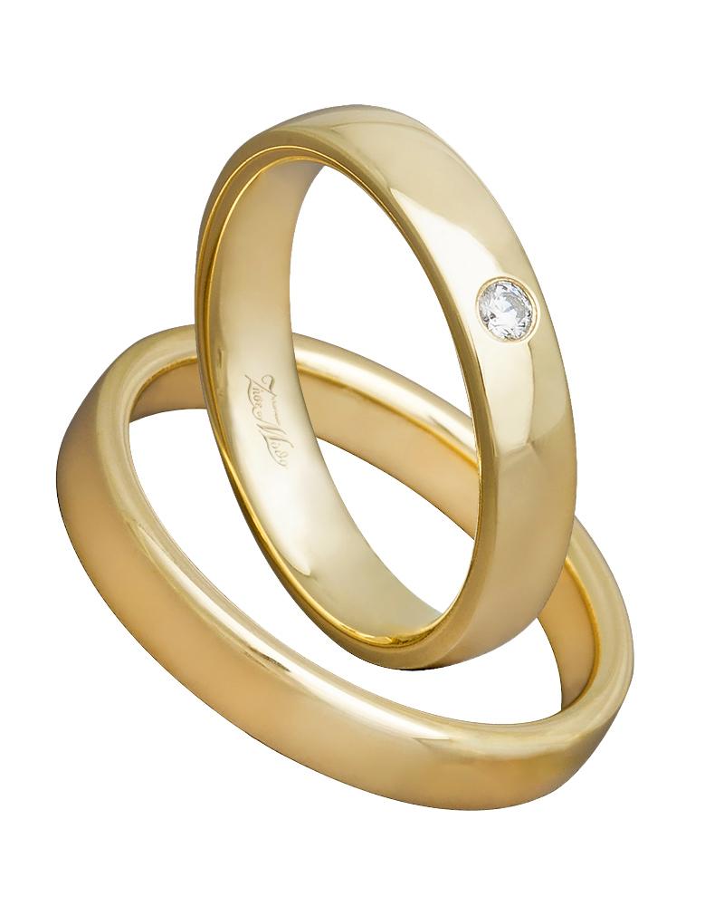 Εικόνα του προϊόντος Βέρα χειροποίητη χρυσή με Διαμάντι