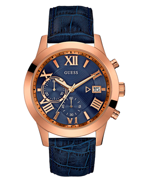 Ρολόι GUESS Chronograph Rose Gold W0669G2