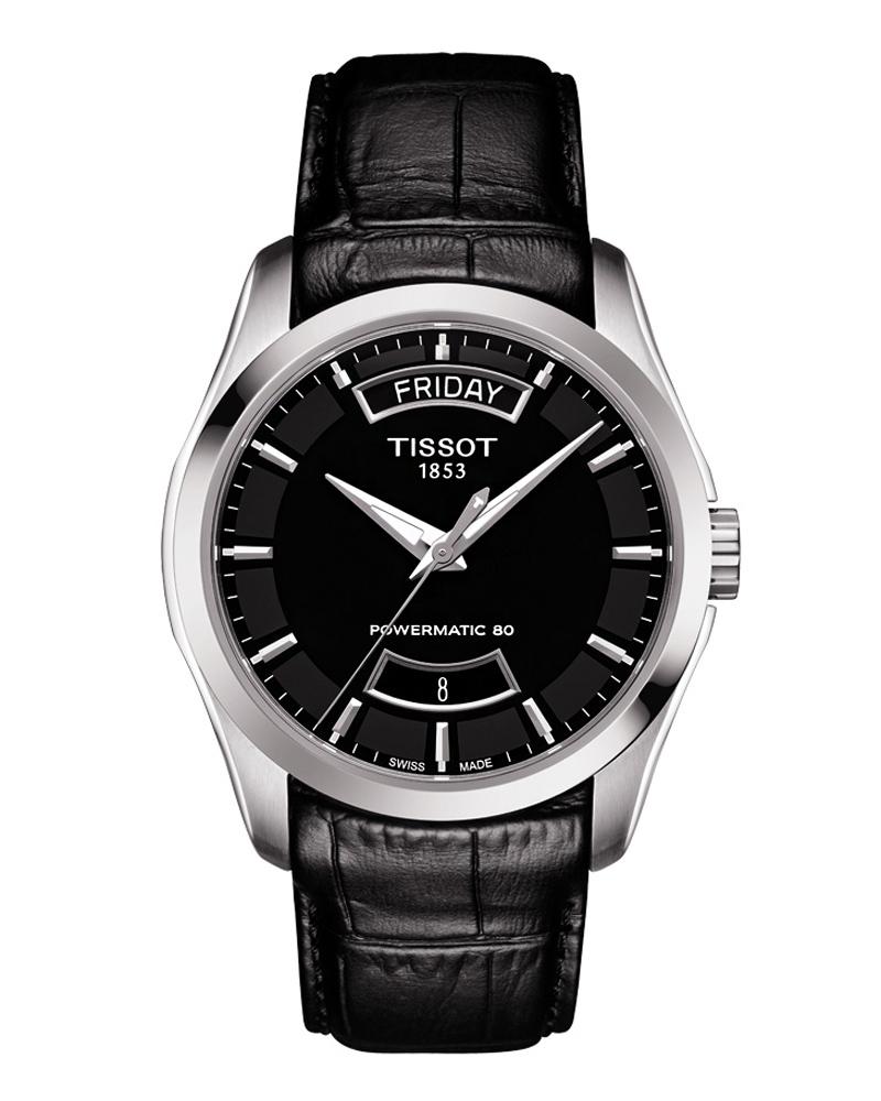 Ρολόι TISSOT T-Classic Couturier Powermatic 80 T0354071605102   brands tissot t classic