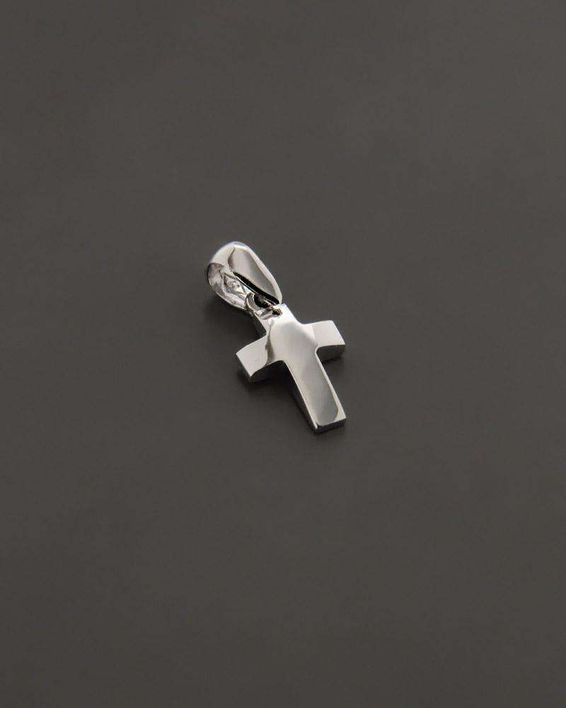 Σταυρός λευκόχρυσος K14   γυναικα σταυροί σταυροί λευκόχρυσοι