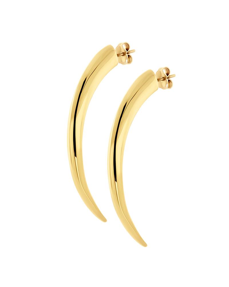 HONOR Σκουλαρίκια από Ασήμι Tiger Claws E31   κοσμηματα σκουλαρίκια σκουλαρίκια fashion