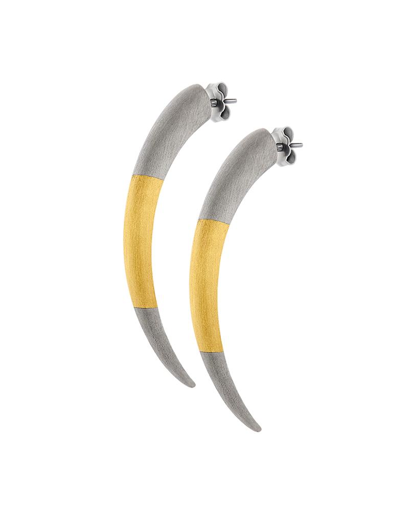 HONOR Σκουλαρίκια από Ασήμι Tiger Claws E34   κοσμηματα σκουλαρίκια σκουλαρίκια fashion