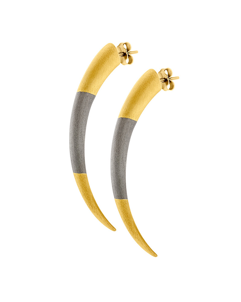 HONOR Σκουλαρίκια από Ασήμι Tiger Claws E35   κοσμηματα σκουλαρίκια σκουλαρίκια fashion