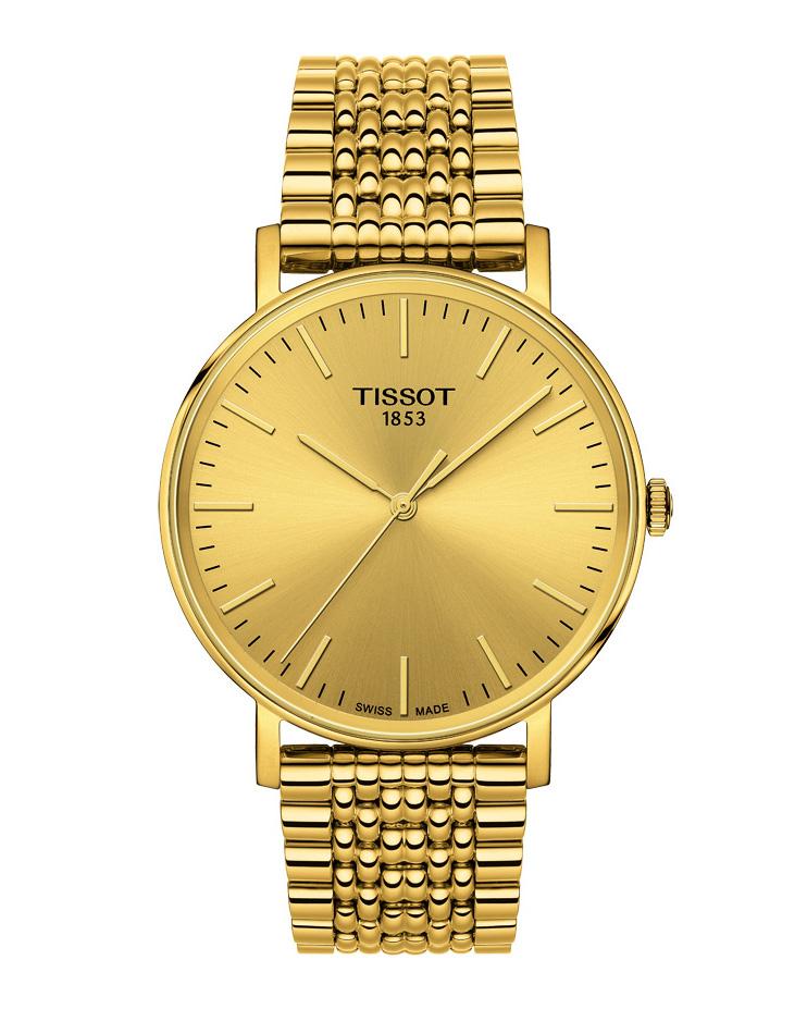 Ρολόι TISSOT T-Classic Everytime Gold T1094103302100   brands tissot