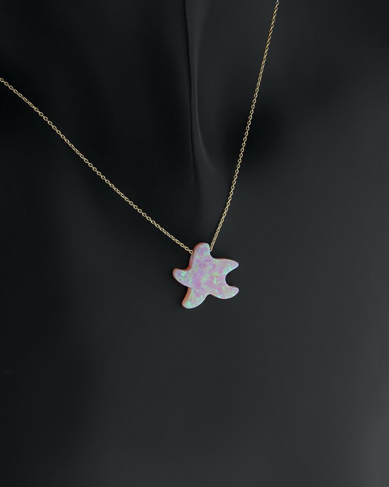 Κολιέ χρυσό Κ14 αστέρι   κοσμηματα κρεμαστά κολιέ κρεμαστά κολιέ παιδικά