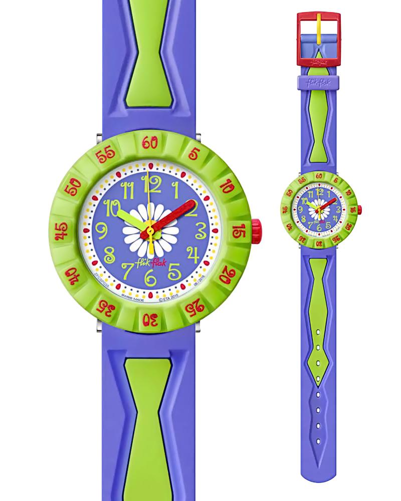 Ρολόι FLIK FLAK Purple Flower ZFCSP035   παιδι παιδικά ρολόγια