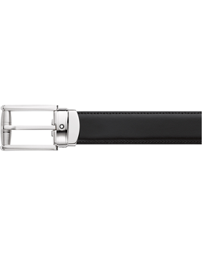 Montblanc Contemporary Reversibe Leather Belt Black/Brown 114427