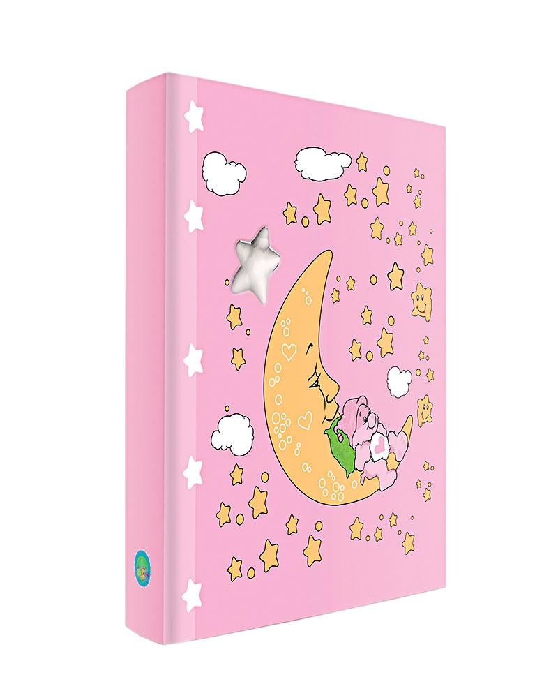 Παιδικό άλμπουμ φεγγαράκι με αστεράκια 902   δωρα παιδικές κορνίζες   άλμπουμ