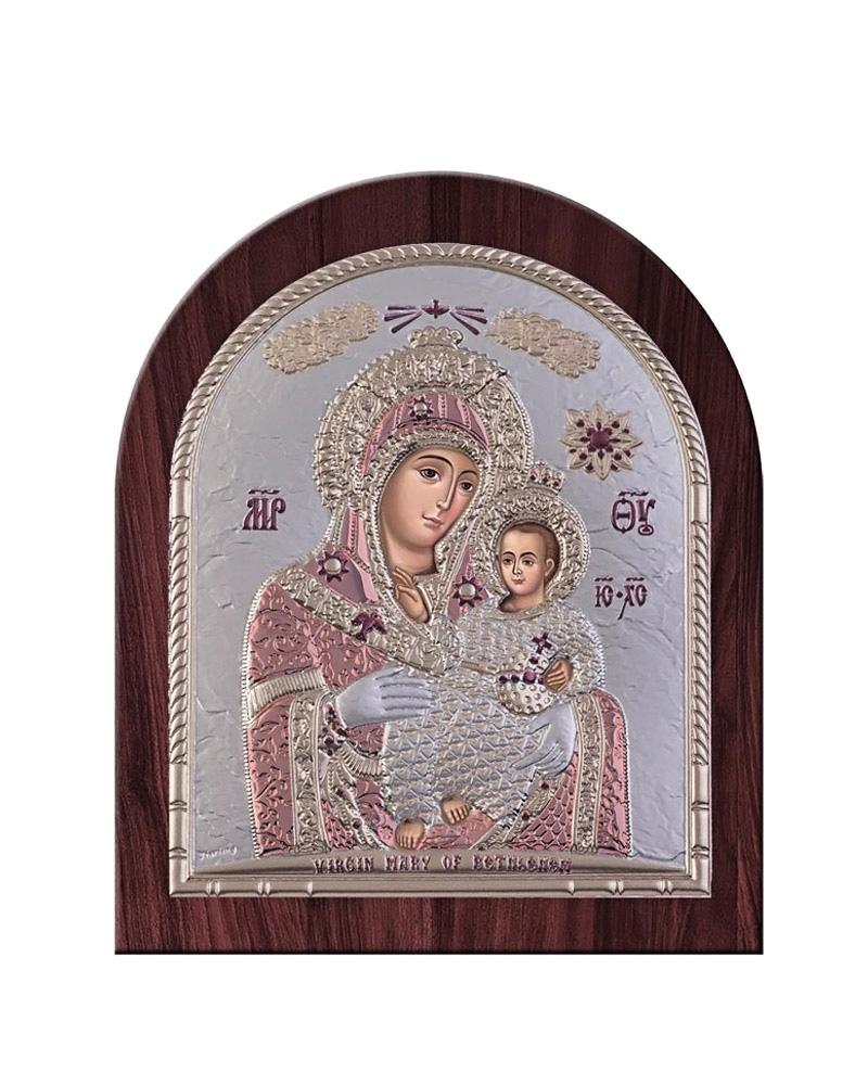 Εικόνα Παναγία της Βηθλεέμ, ξύλινη μπορντούρα 00211OBR6RWC   δωρα εικόνες
