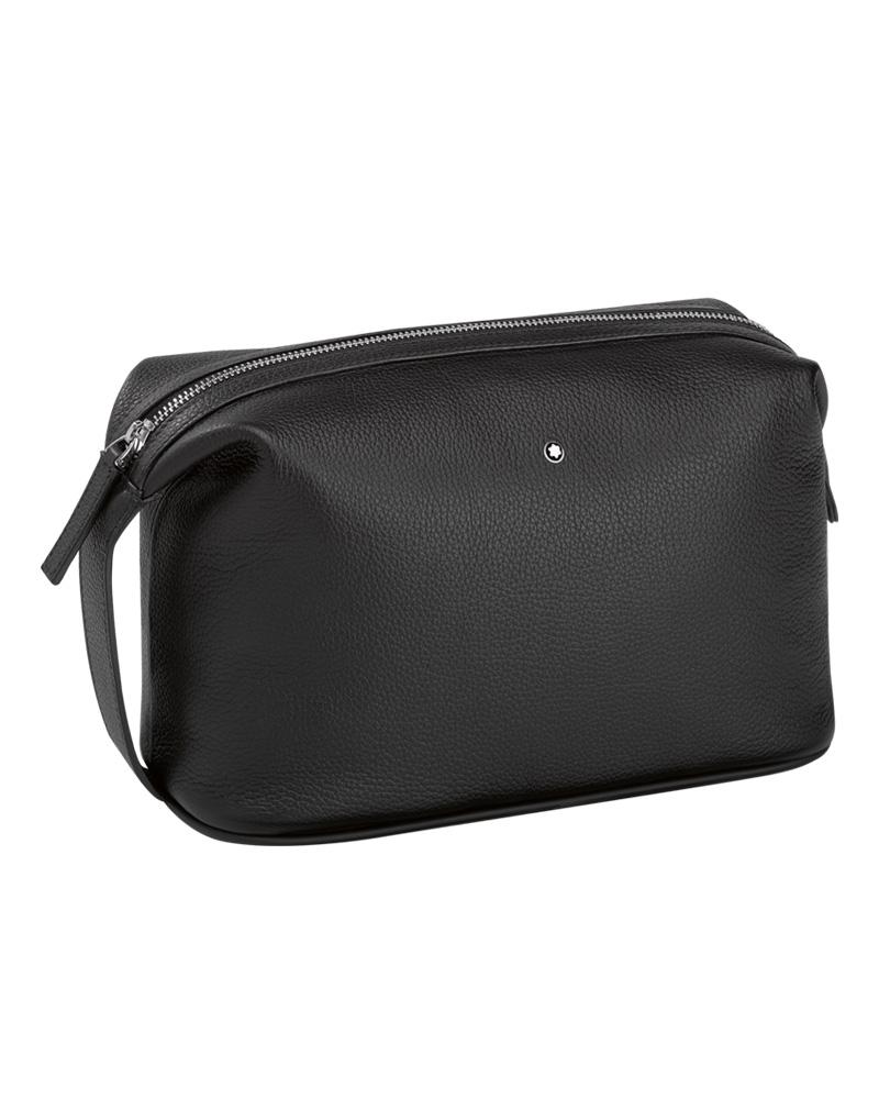 Montblanc Wash bag Meisterstück Soft Grain 114715   δωρα είδη ταξιδιού   σακίδια