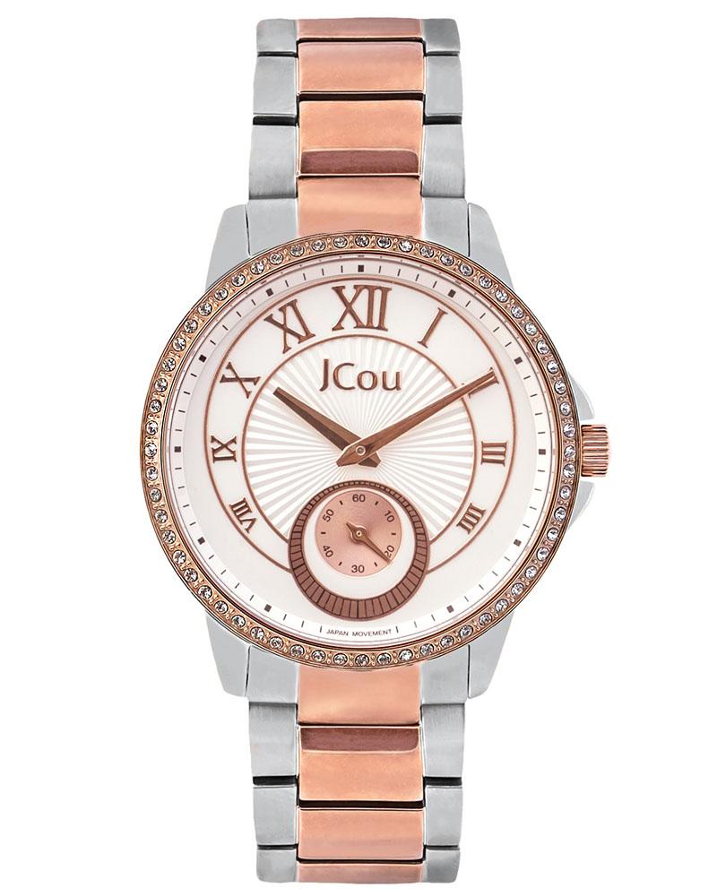 Ρολόι Jcou Royal Two Tone JU15046-6   ρολογια jcou