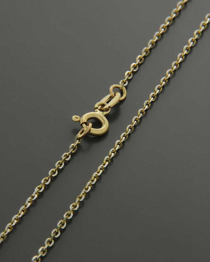 Αλυσίδα λαιμού χρυσή Κ9 55 cm   παιδι αλυσίδες λαιμού αλυσίδες χρυσές