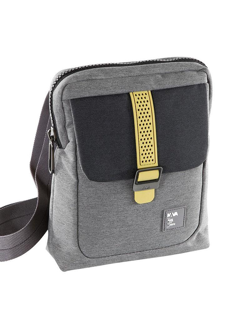 Nava Τσαντάκι ώμου Courier Sneakers iPad, Smoke, CS013SK   δωρα είδη ταξιδιού   σακίδια