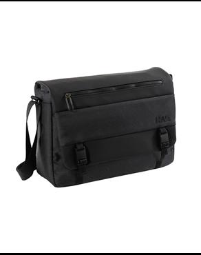 824804ae342 Nava Τσάντα ώμου Gate Messenger Laptop & iPad, Black, GT063N