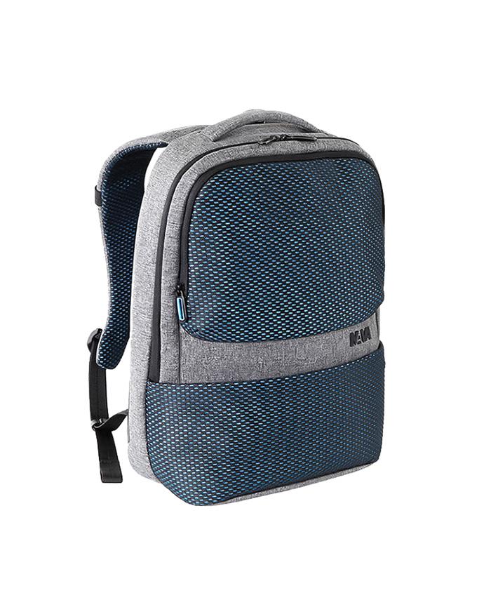 "Nava Τσάντα πλάτης Traffic Knapsack 15.6"" PC, Blue & Light, Grey   δωρα είδη ταξιδιού   σακίδια"