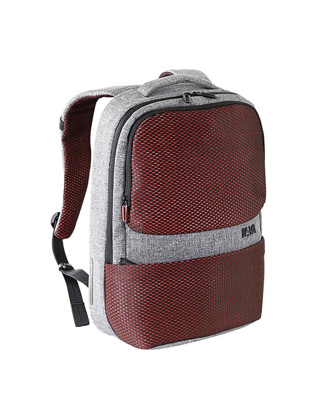 "Nava Τσάντα πλάτης Traffic Knapsack 15.6"" PC, Signal Light, Grey   δωρα είδη ταξιδιού   σακίδια"