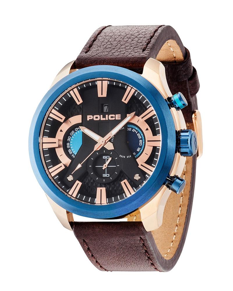 Ρολόι POLICE Cyclone 14639JSRBL-02   brands police