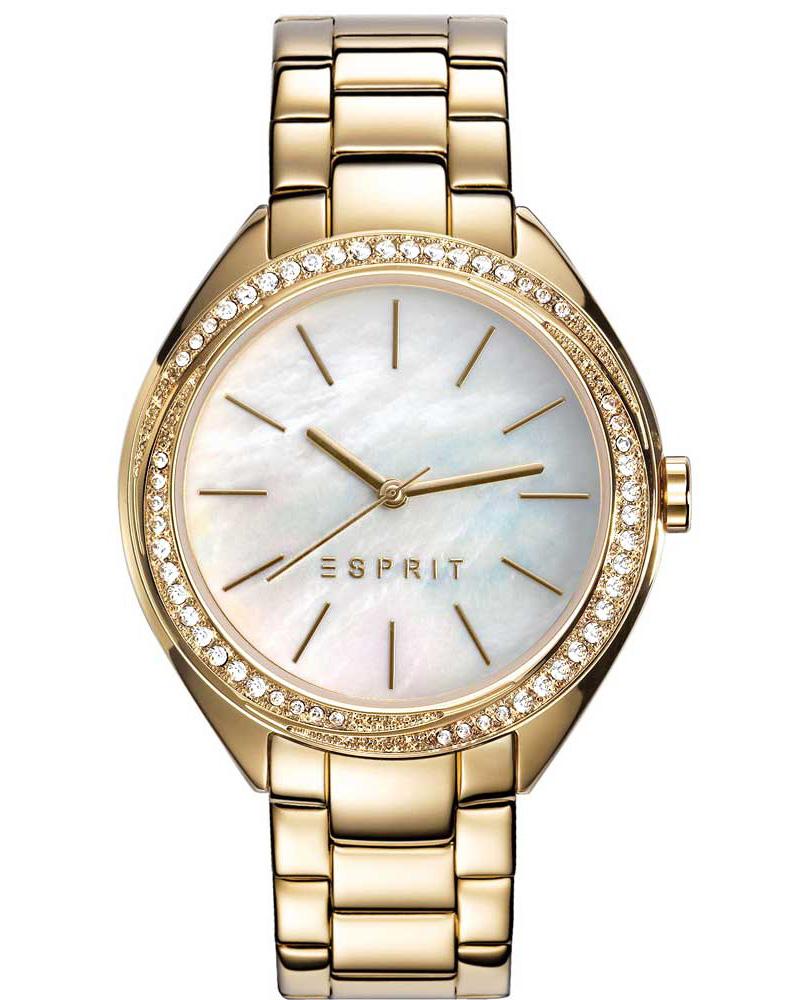 Ρολόι Esprit Crystals Gold ES109302002   brands esprit