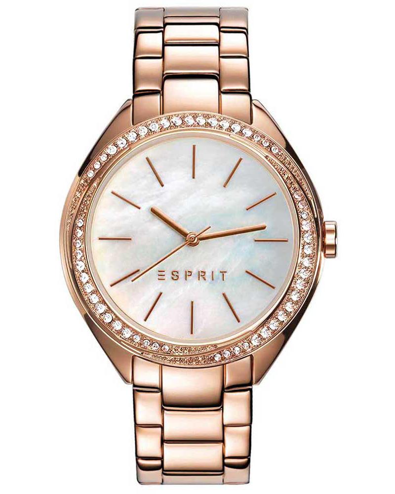 Ρολόι Esprit Crystals Rose Gold ES109302003   brands esprit