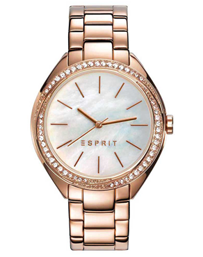 Ρολόι Esprit Crystals Rose Gold ES109302003
