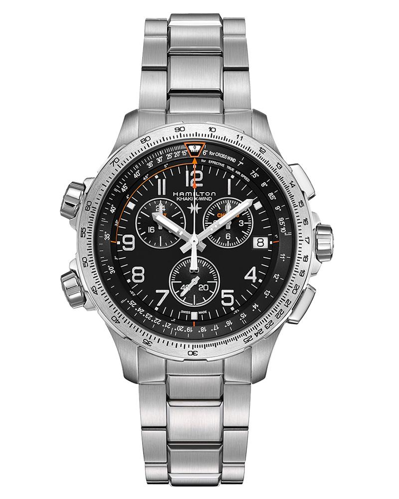 Ρολόι Hamilton Khaki X Wind GMT Chronograph H77912135   brands hamilton