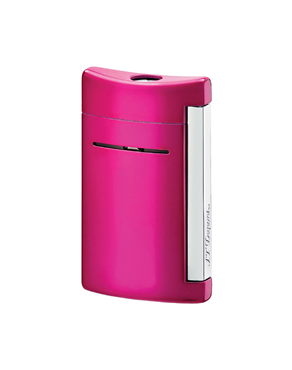 S.T. Dupont Αναπτήρας Minijet Chrome Finish Fuchsia 010051