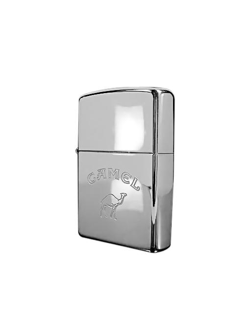 Zippo Αναπτήρας Camel Polished Chrome Engraved   δωρα δώρα ως 100e