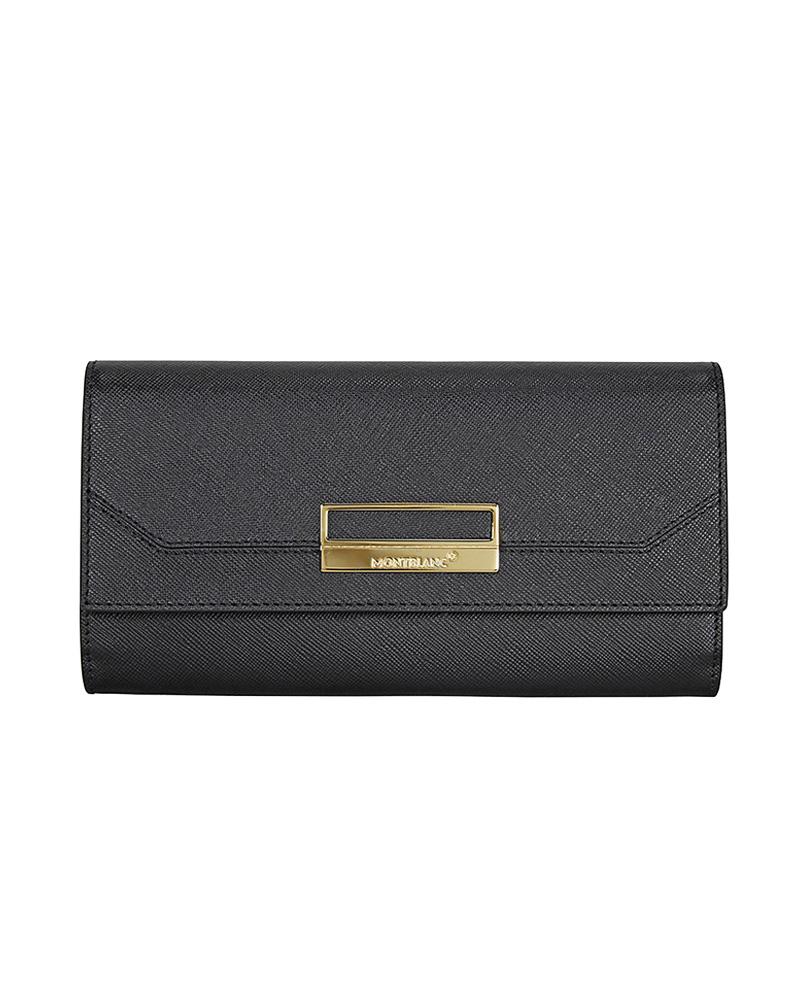 Montblanc Πορτοφόλι Sartorial Saffiano Long Leather Wallet 11459   γυναικα δερμάτινα είδη