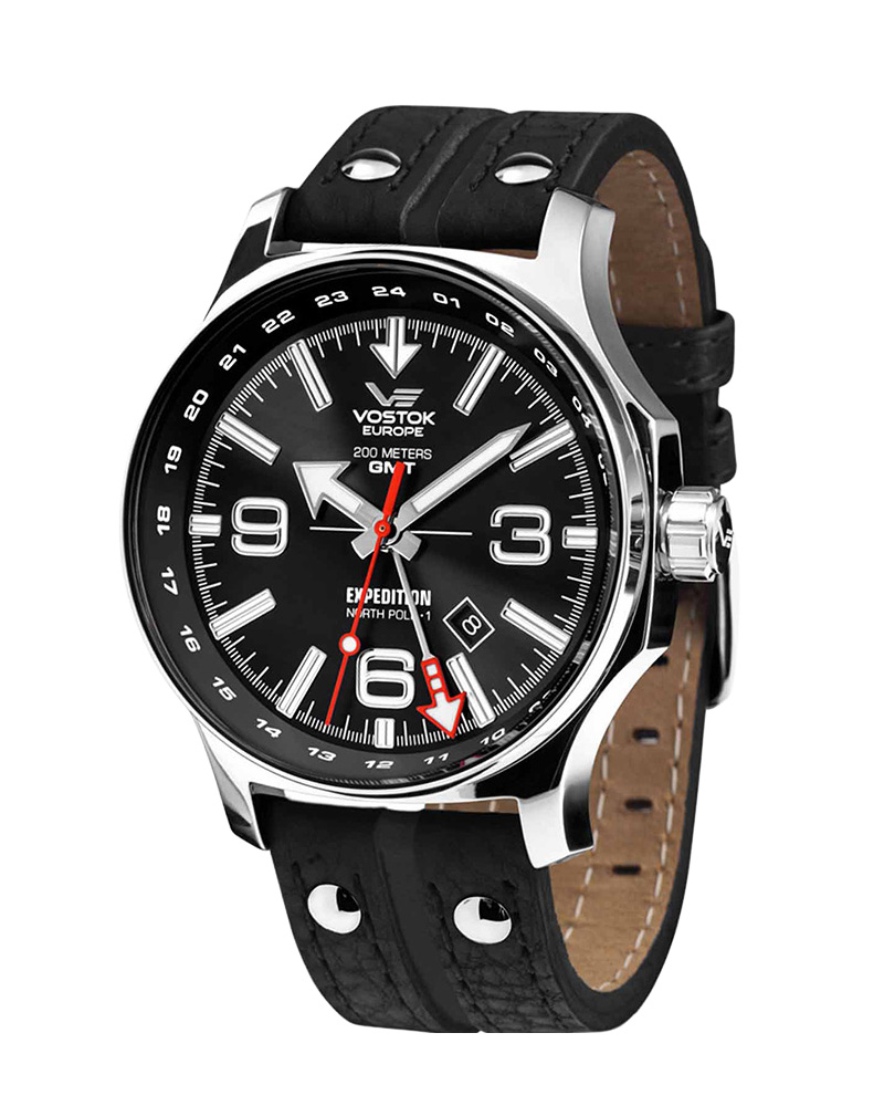 Ρολόι Vostok Europe Expedition North Pole-1 GMT 515.24H-595A500   ρολογια vostok europe