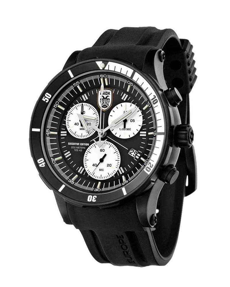 Ρολόι Vostok Europe Paok FC 6S30-5104336   ρολογια vostok europe