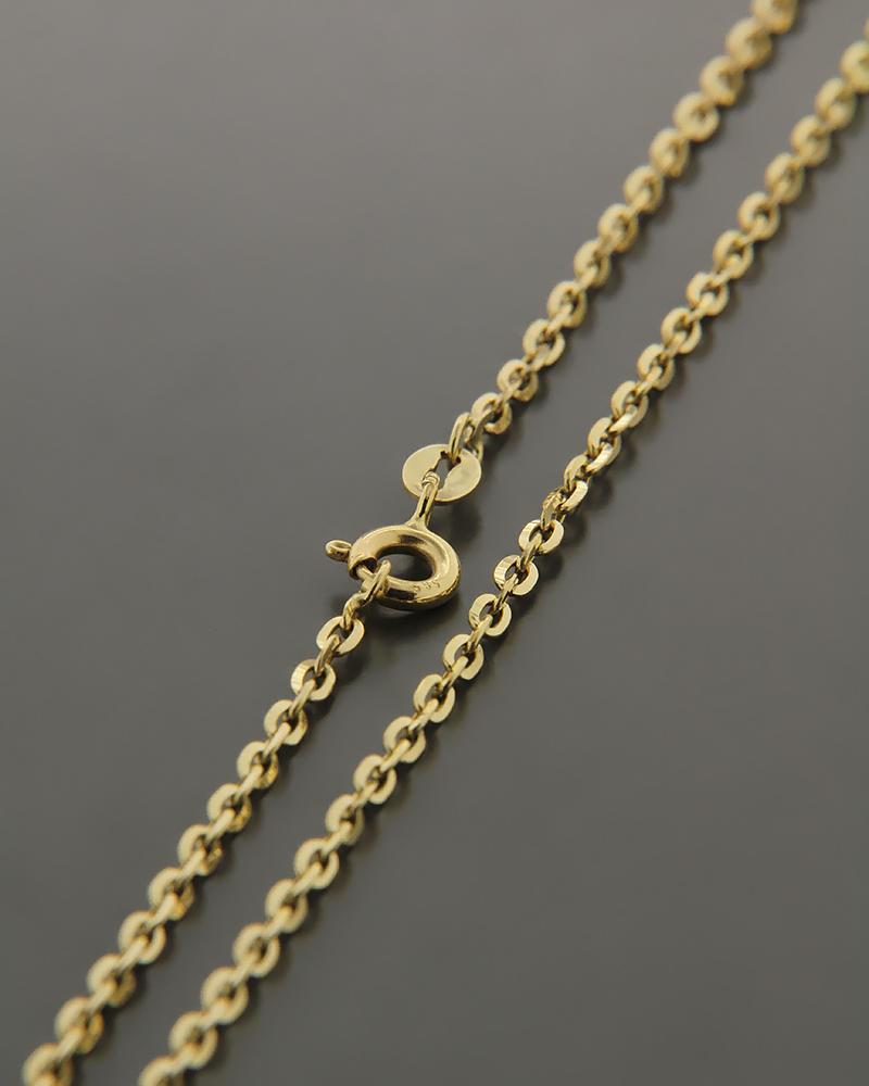 Αλυσίδα λαιμού χρυσή K14 45cm   παιδι αλυσίδες λαιμού αλυσίδες χρυσές