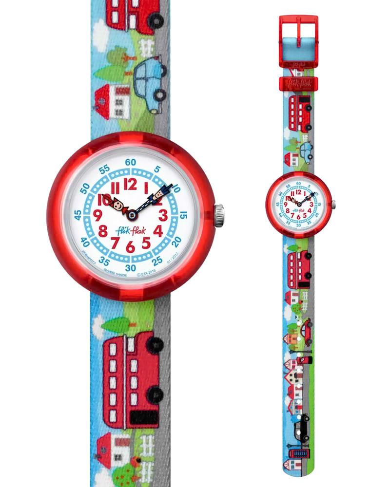 Ρολόι FLIK FLAK Highway To Uk ZFBNP077   παιδι παιδικά ρολόγια