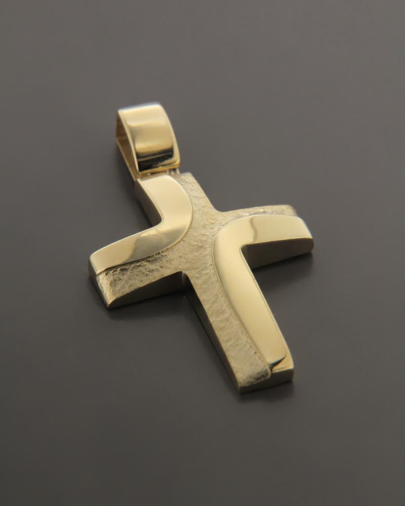 Σταυρός χρυσός K14   ανδρασ σταυροί ανδρικοί