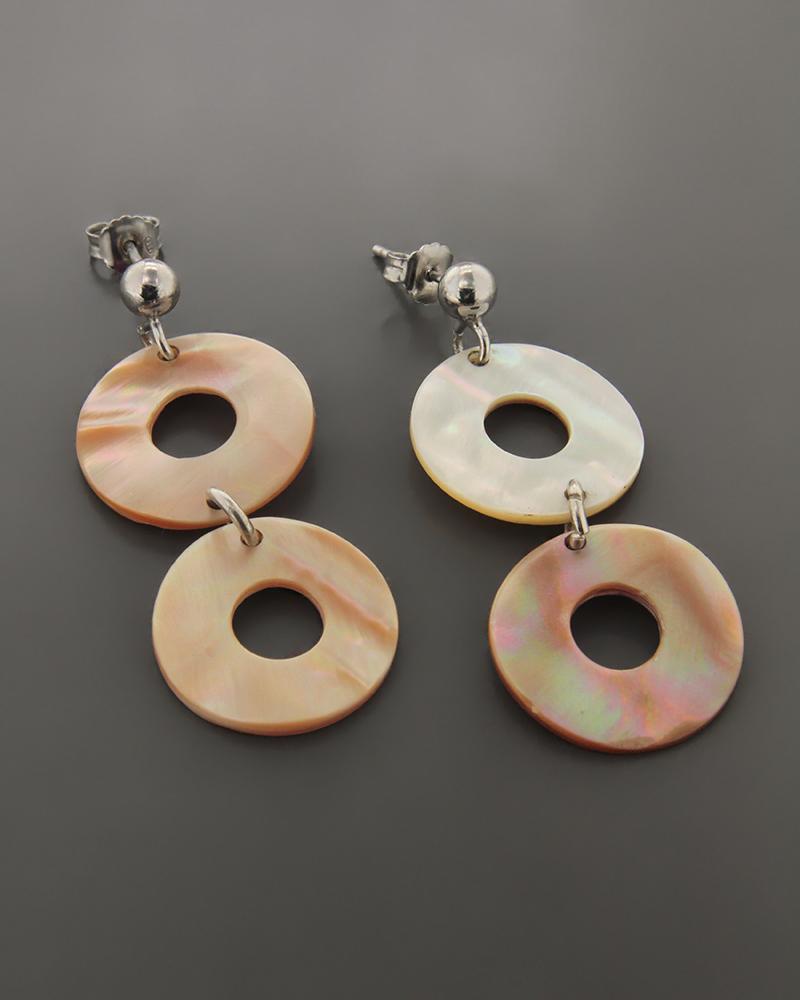 Σκουλαρίκια ασημένια με φίλντισι   γυναικα σκουλαρίκια σκουλαρίκια ημιπολύτιμοι λίθοι
