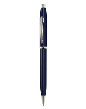 Cross Century II Translucent Blue Lacquer Ballpoint AT0082WG-103